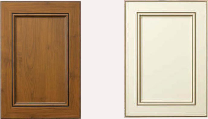 Glazed Thermofoil Doors