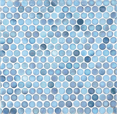 Penny Round Tile | KitchAnn Style