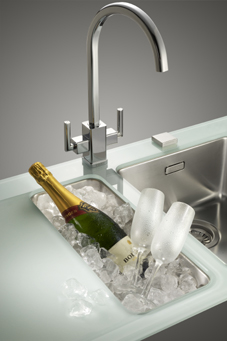 Glass Sink | KitchAnn style