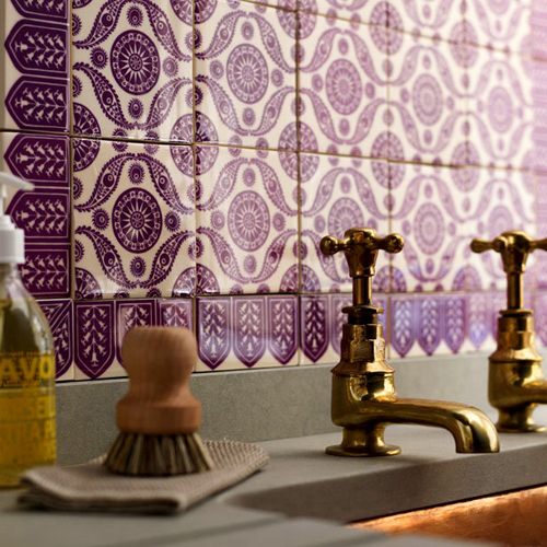 purple tile color of the year 2011 | KitchAnn Style