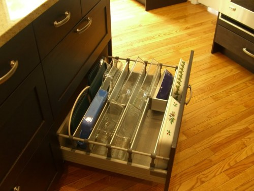 New Ways To Think About Deep Drawer Storage for casserole storage