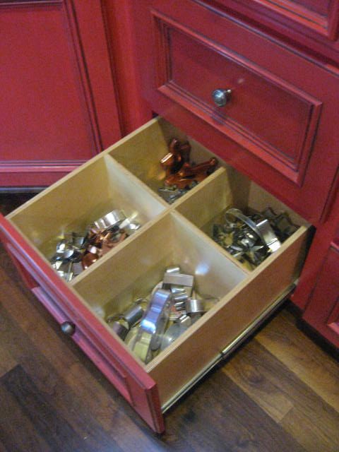 New Ways To Think About Deep Drawer Storage with deep dividers for cookie cutters