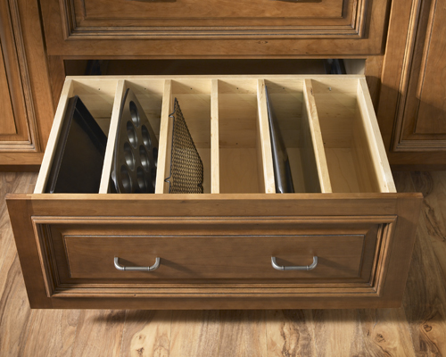 New Ways To Think About Deep Drawer Storage using deep dividers