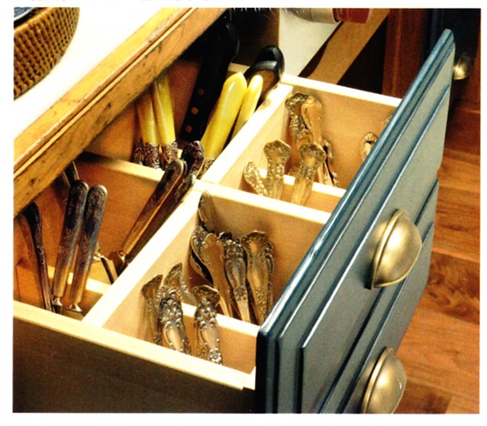 New Ways To Think About Deep Drawer Storage for standing cutlery