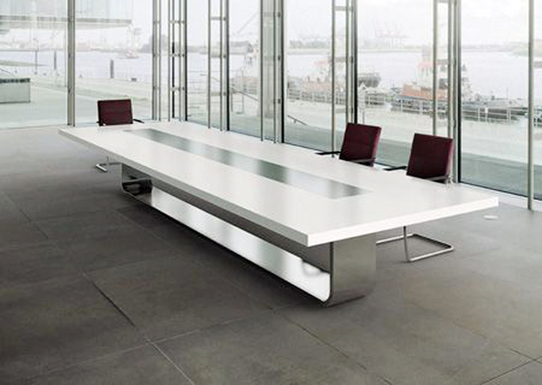 Corian Meeting Table | KitchAnn Style