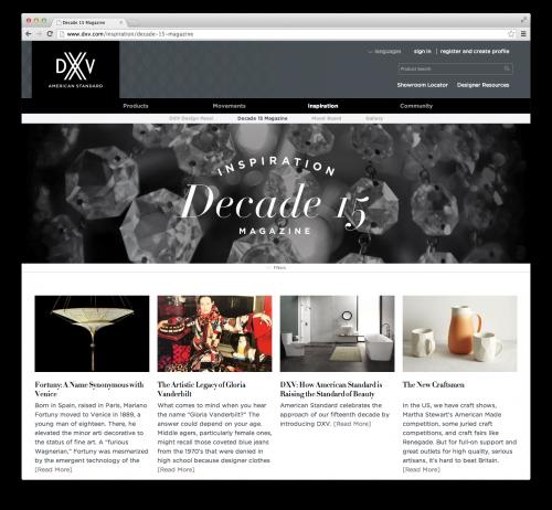 Screen Shot DXV | Kitchen Studio of Naples