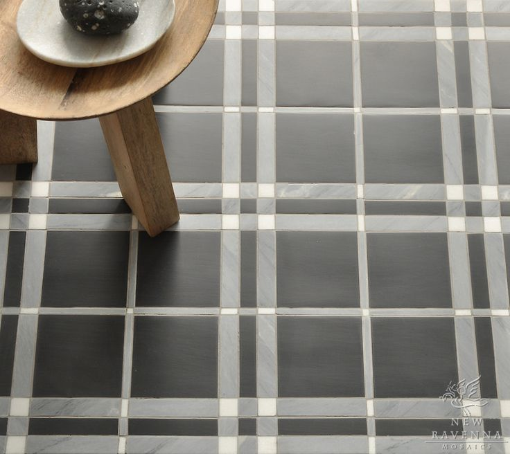 Mad for Plaid Tile | KitchAnn Style