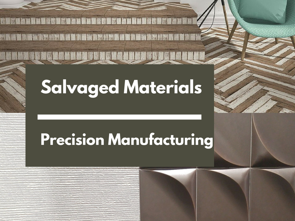 Salvaged Materials - Precision Manufacturing | KitchAnn Style