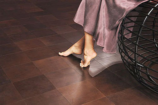 Luxurious Leather Tile | KitchAnn Style