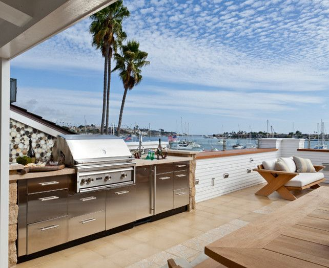 Listings with outdoor kitchens were on the market fewer days | KitchAnn Style