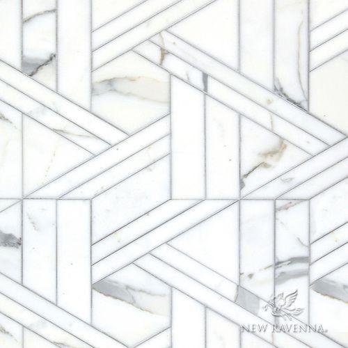 Calacatta Mosaic tile | KitchAnn Style