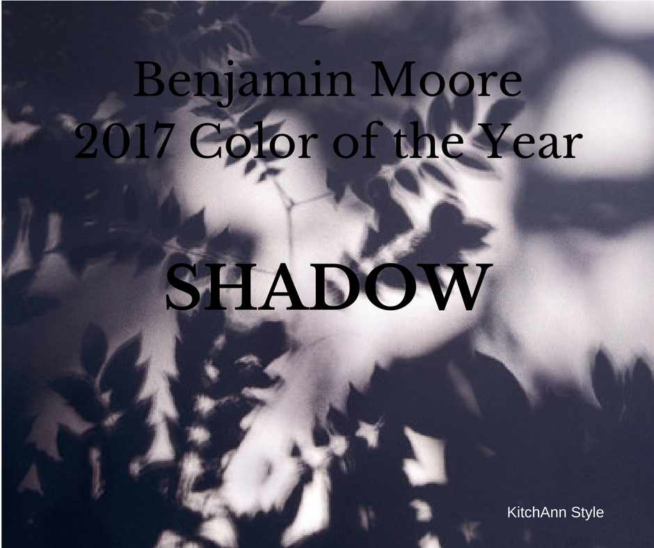 Benjamin Moore Color of the Year 2017 | KitchAnn Style