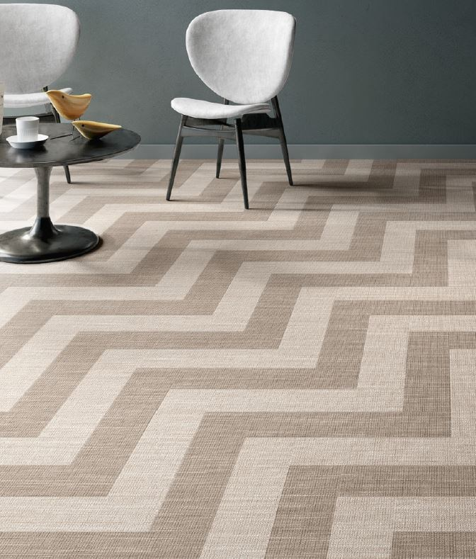 New Tile Trends- carpet efect | KitchAnn Style