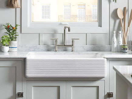 New Apron Front Sink | Kitchann Style