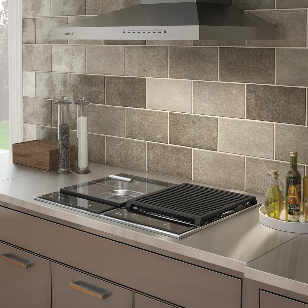 """modular and 24"""" cooktop are perfect together"""