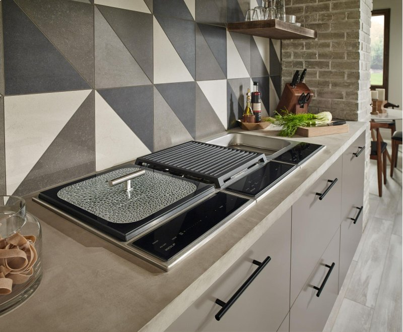 Customize your cooktop to the way you like to cook with new transitional units from Wolf.
