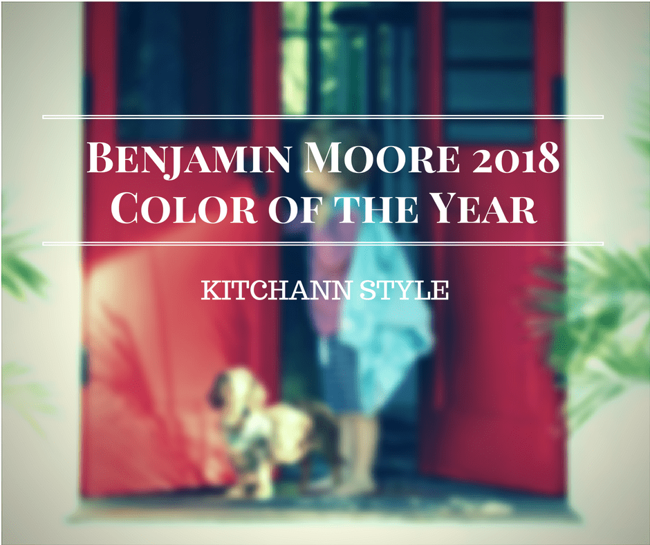 Benjamin Moore Color of the Year 2018 - Caliente