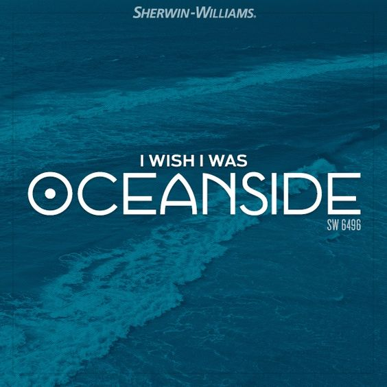 Sherwin-Williams Oceanside SW-6496 | KitchAnn Style