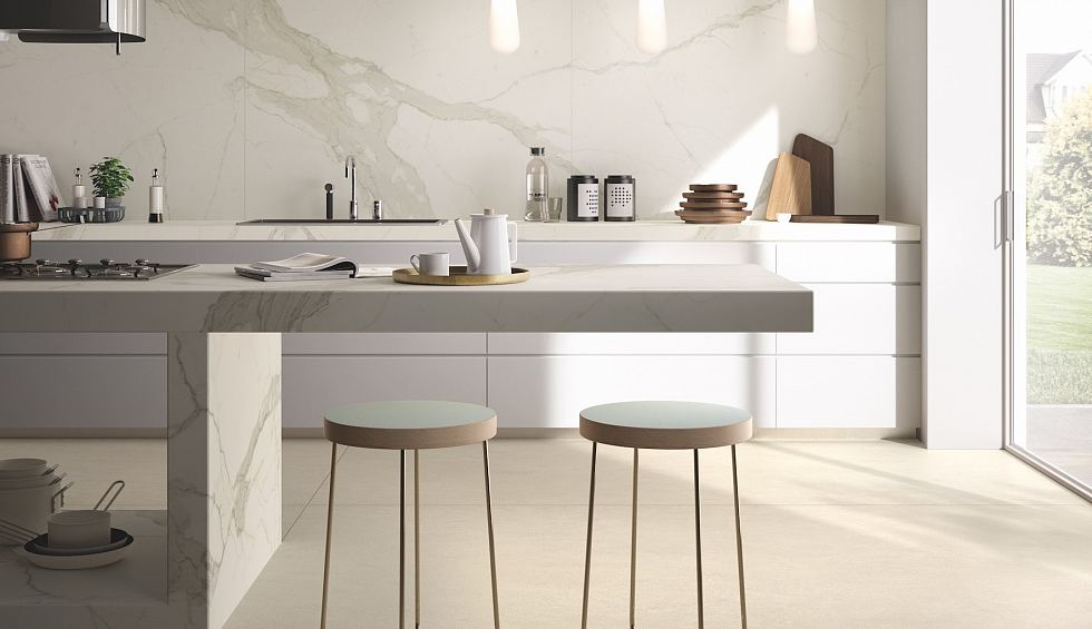Today's marble alternatives have the veins, blooms and fine variations that would be expected in natural stone