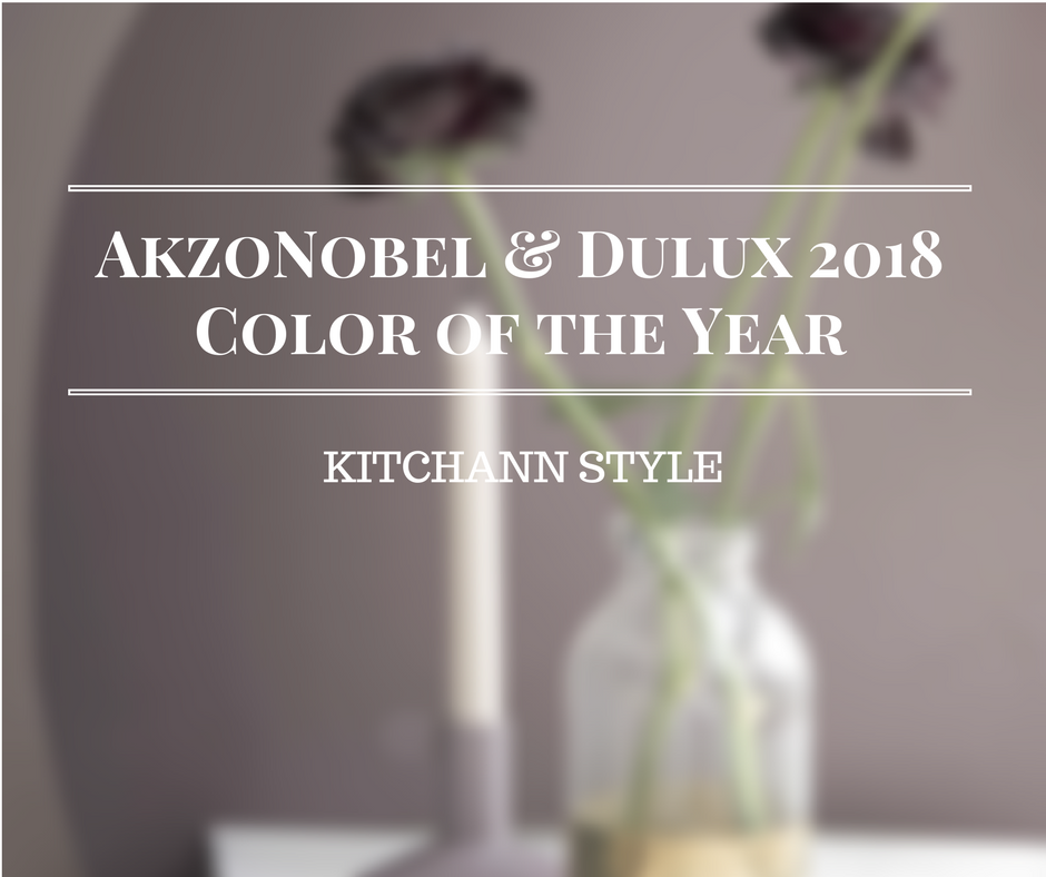 AzkoNobel Color of the Year 2018