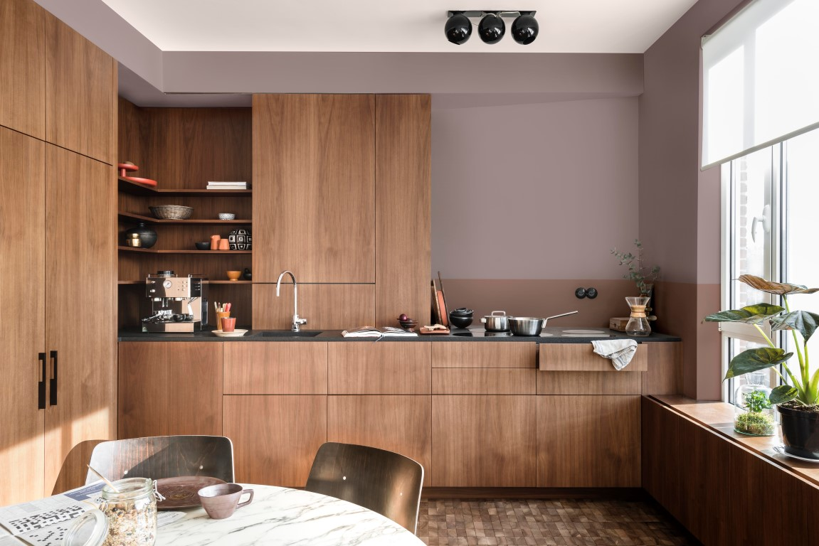 Heart Wood is a warm shade inspired by beautiful wood.