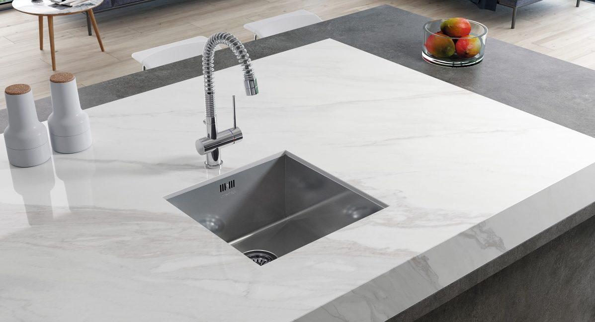 6 Calacatta Marble Alternatives from Kitchen Studio of Naples