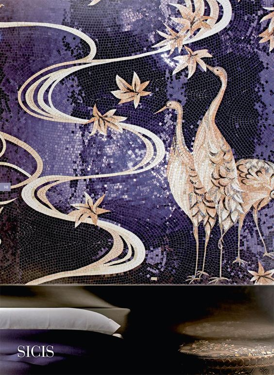 Sicis Oriental Mosaic Collection | Ultra Violet Tile
