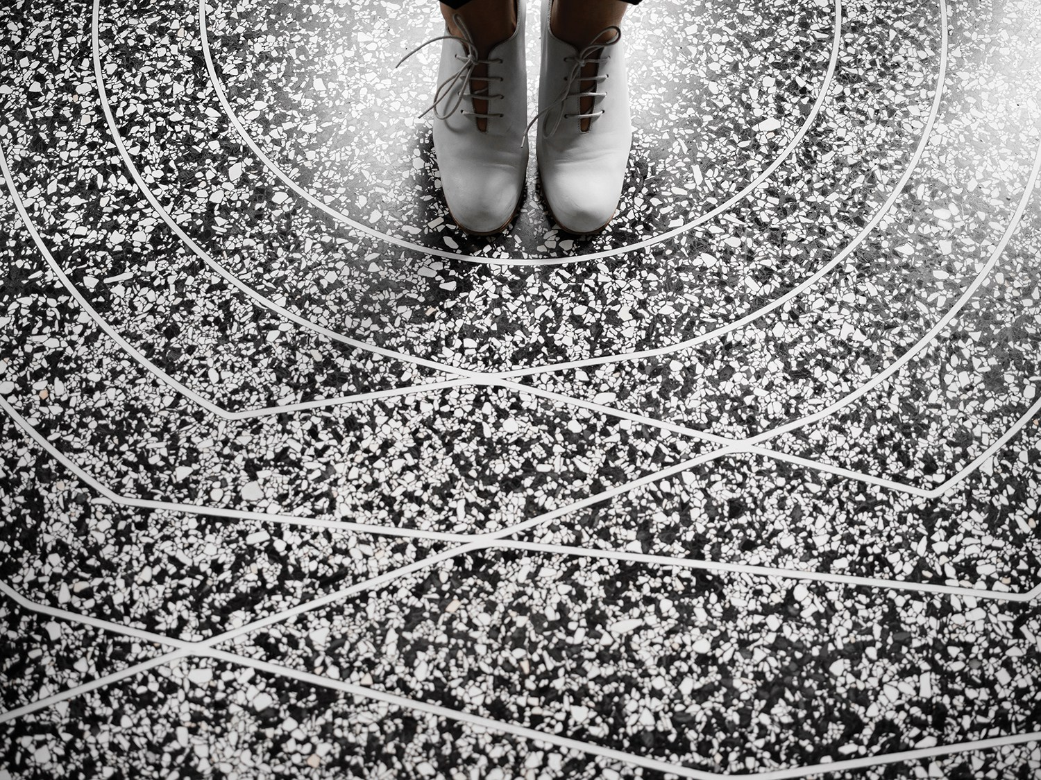 3D Printed Terrazzo Floors offer new sustainable freedom in any style. #flooring #flooringideas #kitchann