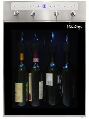 The New Wine Steward from Vinotemp can be built-in