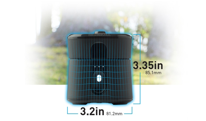 Mosquito Control for outdoor kitchens in a compact and portable size