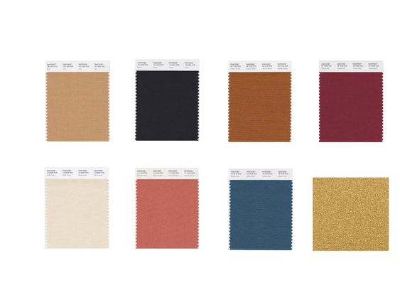 Pantoneview Home + Interiors 2019 Classico Palette