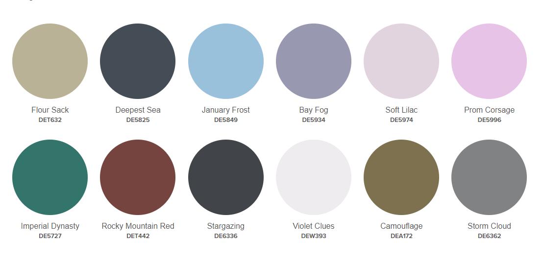 Dunn-Edwards Color + Design Trends 2019
