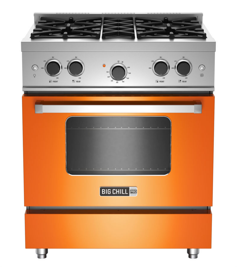 BlueStar and Big Chill Brand Gas Ranges and Wall Ovens