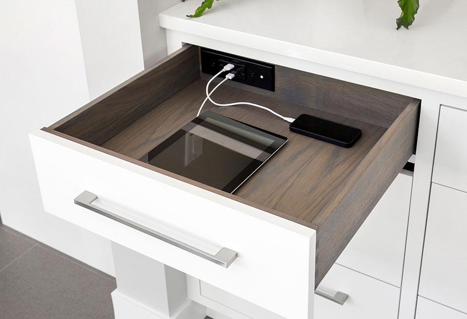 Digital Detox Tips   cabinet solutions with hidden charging