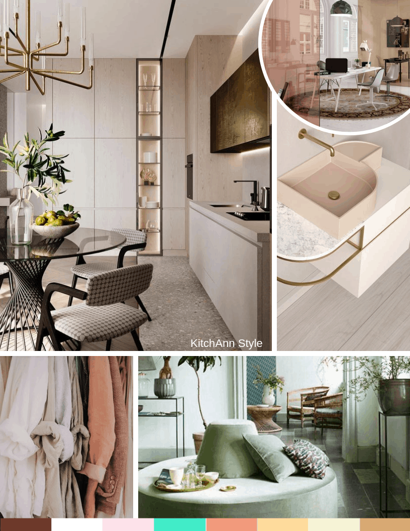 Pantone View Home + Interiors 2020 Color Inspiration from Kitchen Studio of Naples