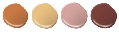 Behr 2020 Color Trends Palette paint examples