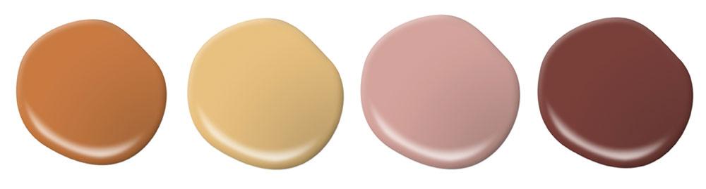 Behr Reveals 2020 Color Trends Palette paint examples