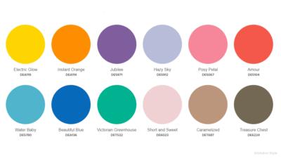 Dunn Edwards 2020 Playtime palette