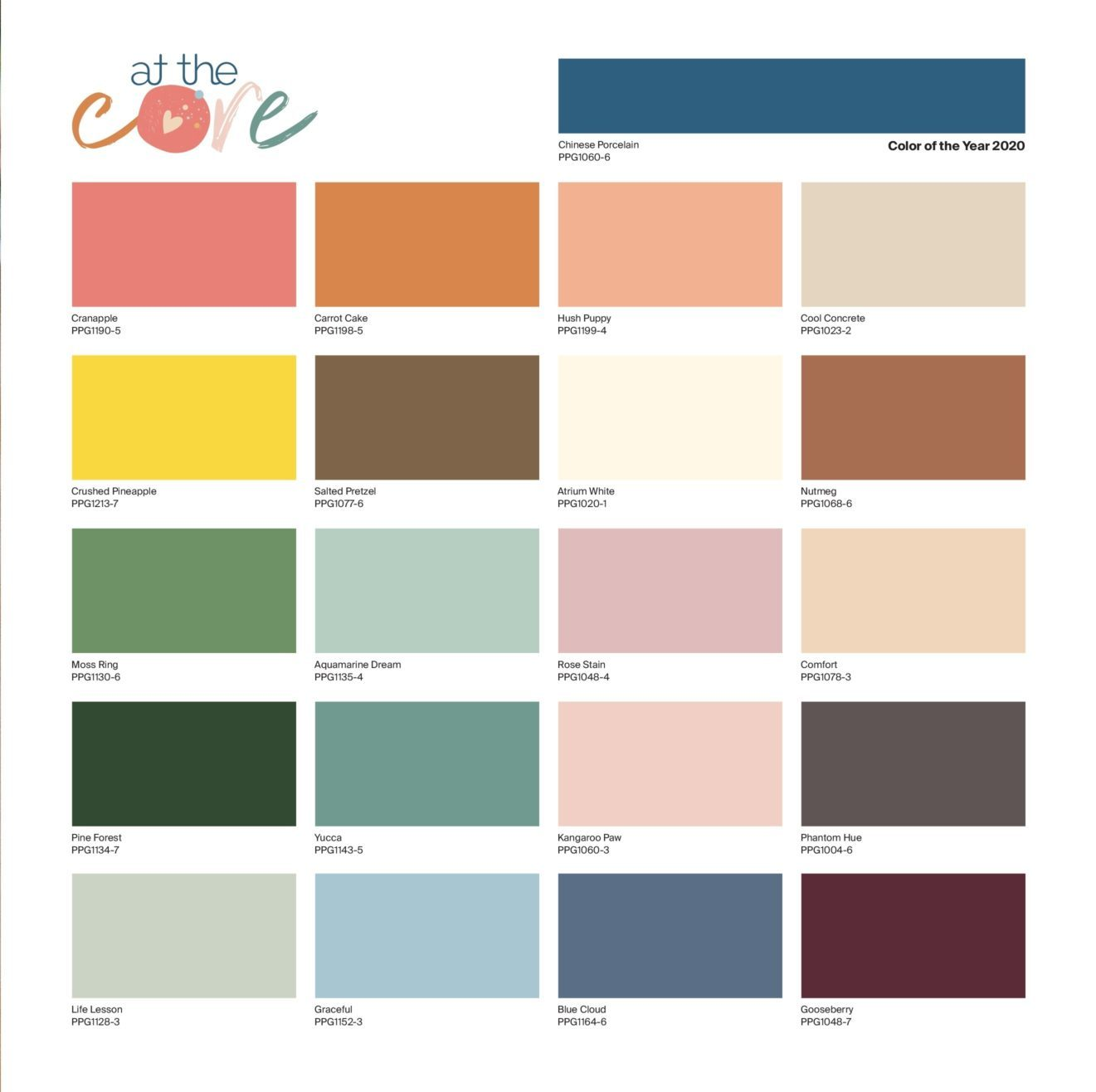 Ppg color of the year 2020 chinese laundry kitchann style - Color of the year 2020 ...