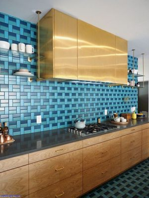 PPG color of the year 2020 - Chinese Porcelain used in kitchen