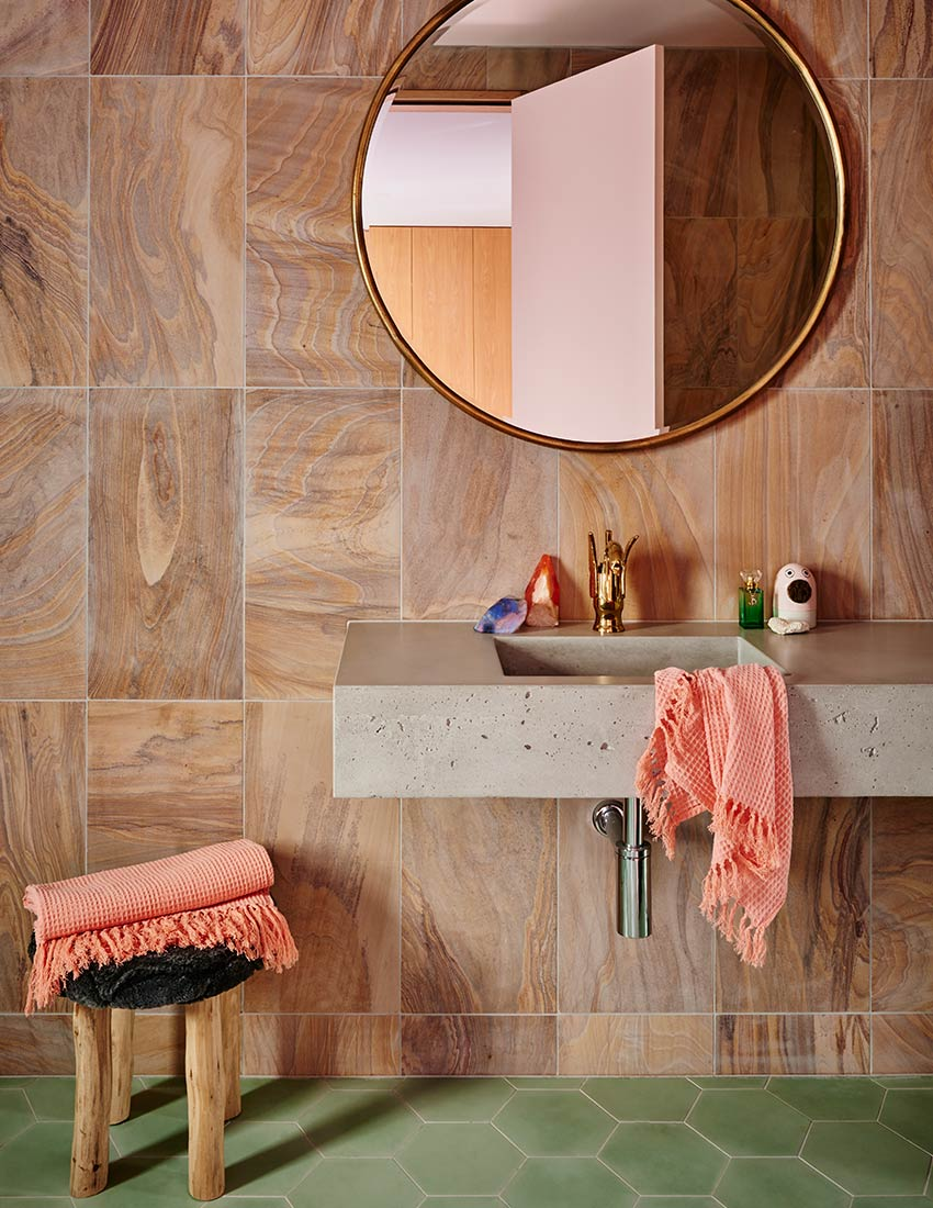 Behr Color of the Year 2020 floor inspiration