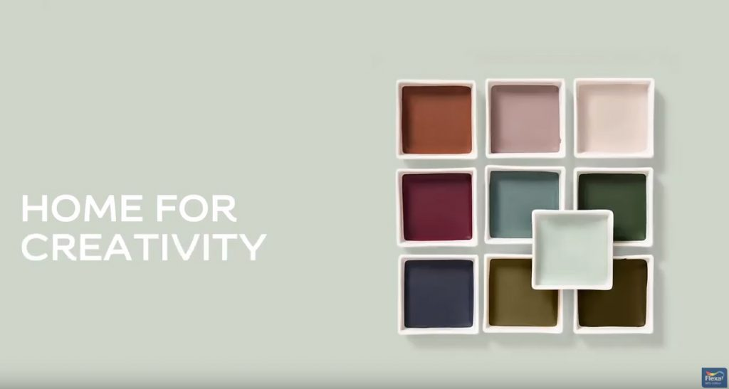 AkzoNobel Creativity Palette 2020 color inspiration