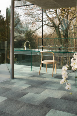 AkzoNobel Color of the Year for 2020: Tranquil Dawn carpet inspiration for biophilic design