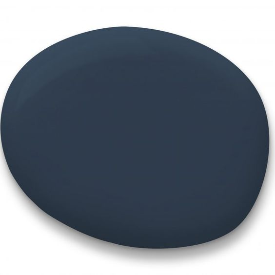 Sherwin-Williams Color of the Year 2020: Naval paint sample