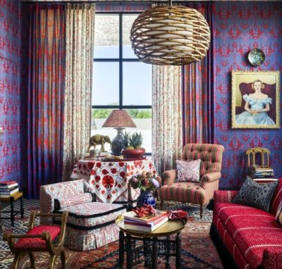 House Beautiful 2019 Kitchen(s) of the Year - Art Sitting Area