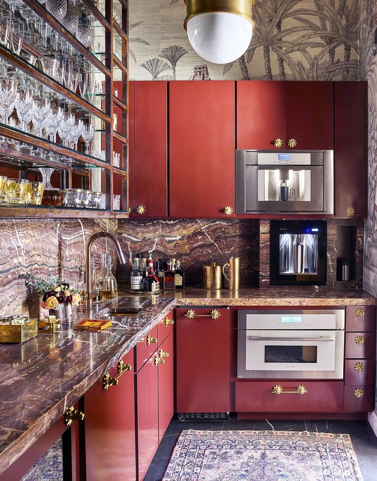 House Beautiful 2019 Kitchen(s) of the Year - Speakeasy Kitchen
