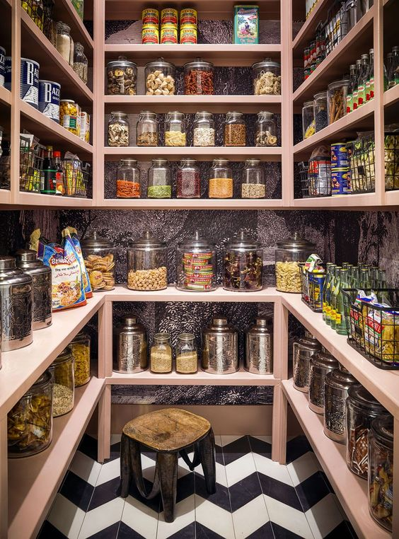 House Beautiful 2019 Kitchen(s) of the Year - Storage Pantry