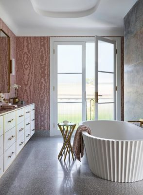 Benjamin Moore Color of the Year 2020: First Light tile inspiration