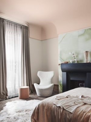 Benjamin Moore Color of the Year 2020: First Light ceiling paint inspiration