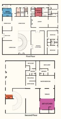 House Beautiful 2019 Kitchen(s) of the Year house floor plan